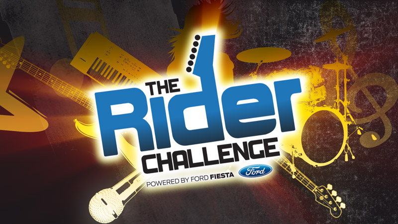 The RIder Challege Title Card