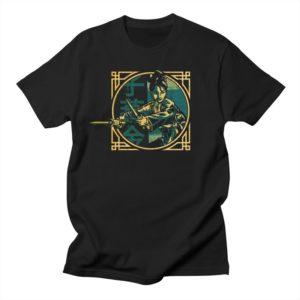 shirt Golden Swallow Moonlight Mini